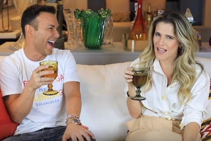 Matheus Mazzafera e Ingrid Guimarães