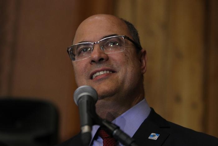 Rio de Janeiro 14/08/2019 - O governador Wilson Witzel durante da ampliacao do Niteroi presente. Foto: Luciano Belford/Agencia O Dia