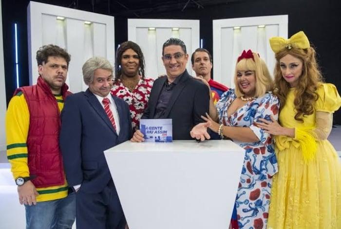Elenco: Caito Mainier, Welder Rodrigues, Paulo Vieira, Adnet, Antonio Fragoso, Fabiana Karla e Betty Gofman