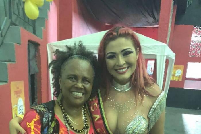 Nanda Marques será musa de escola de samba do Flamengo
